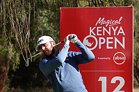 Liam Johnston (SCO) in action during previews ahead of the Magical Kenya Open presented by ABSA, Karen Country Club, Nairobi, Kenya. 13/03/2019<br /> Picture: Golffile | Phil Inglis<br /> <br /> <br /> All photo usage must carry mandatory copyright credit (&copy; Golffile | Phil Inglis)
