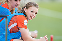 Houston, TX - Sunday March 25, 2018: Alli Murphy during a regular season National Women's Soccer League (NWSL) match between the Houston Dash and the Chicago Red Stars at BBVA Compass Stadium. The game ended in a 1-1 draw.