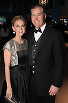 """Courtney and Jason Fertitta at the Houston Museum of Natural Science's """"Slither to the Sound: A Prehistoric Party"""" Saturday March 02, 2013.(Dave Rossman/ For the Chronicle)"""