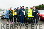 KC Marathon : Pictured at the start of the Kerry Crusaders marathon & 10 K run on Saturday morning last were the members of Mike the Pies Dirty Dozen group. L-R : Nora Lynch, Lisa Breen, Jackie Sugrue, Seanie Lynch, PJ Kelliher, Aiden O'Connor, Martin  Griffin, Eugene Quinn & Mike Walsh.