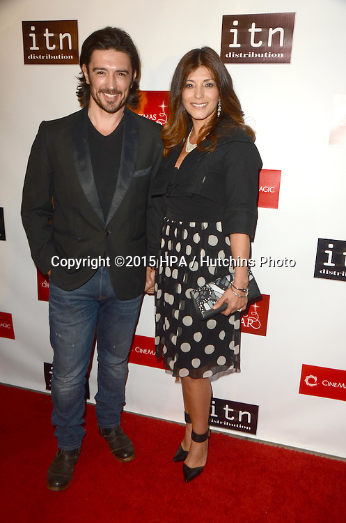 los angeles dec 10 adam croasdell at the a christmas star premiere at the
