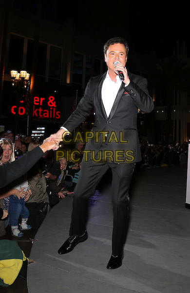 19 November 2016 - Las Vegas, NV -  Donny Osmond.  Donny and Marie Osmond host annual tree lighting celebration at The LINQ Promenade.   <br /> CAP/ADM/MJT<br /> &copy; MJT/ADM/Capital Pictures