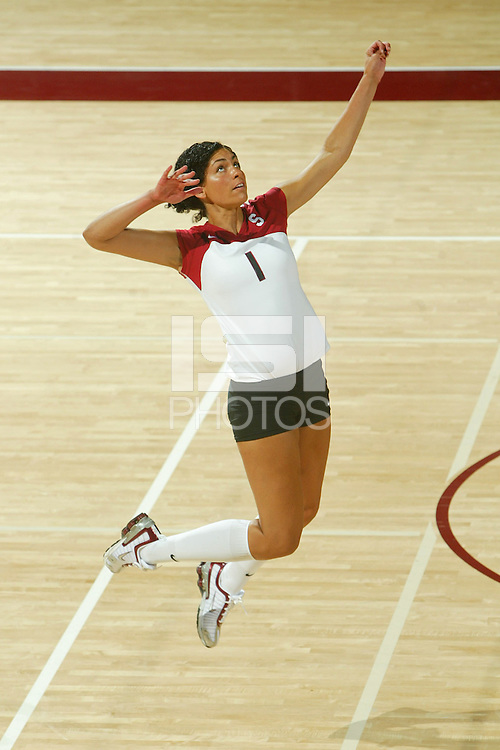 11 August 2005: Cynthia Barboza during picture day at Maples Pavilion in Stanford, CA.