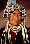 Portrait of Akha woman, Thailand