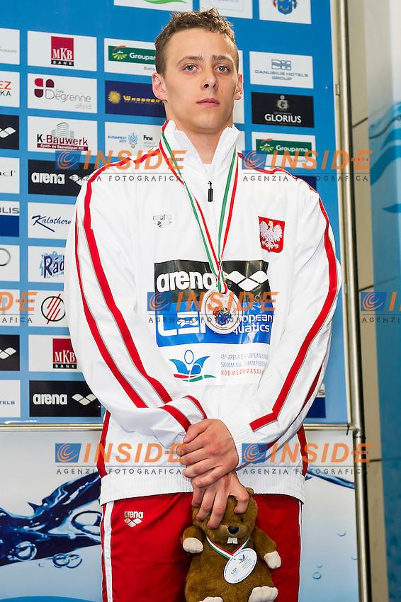 Chrzanowski Damian POL<br /> 200 Butterfly Men Final Bronze Medal<br /> LEN 43rd Arena European Junior Swimming Championships<br /> Hodmezovasarhely, Hungary <br /> Day03 08-07-2016<br /> Photo Andrea Masini/Deepbluemedia/Insidefoto