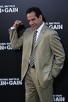 """Tony Shalhoub.  Celebrities gathered at The TCL Chinese Theatre in Hollywood to attend the Los Angeles premiere of Paramount Picture's  PAIN & GAIN on April 22, 2013.<br /> Cast members and filmmakers attending include: Mark Wahlberg (Daniel Lugo), Dwayne Johnson (Paul Doyle), Michael Bay (Director), Anthony Mackie (Adrian Doorbal), Rebel Wilson (Robin Peck), Ed Harris (Ed Du Bois), Tony Shalhoub (Victor Kershaw), Rob Corddry (John Mese), Ken Jeong (Jonny Wu), Bar Paly (Sorina Luminita), Christopher Markus (Screenwriter), Stephen McFeely (Screenwriter), Donald DeLine (Producer)<br /> ABOUT PAIN & GAIN: <br /> From acclaimed director Michael Bay comes """"Pain & Gain,"""" a new action comedy starring Mark Wahlberg, Dwayne Johnson and Anthony Mackie. Based on the unbelievable true story of a group of personal trainers in 1990s Miami who, in pursuit of the American Dream, get caught up in a criminal enterprise that goes horribly wrong. Release Date:  April 26, 2013. Photo by Hilda Lazarte/ Unimedia/ DyD Fotografos"""
