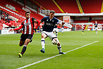 Jake bennett of Sheffield Utd and John Rooney of Millwall during the U23 Professional Development League Two match at Bramall Lane Stadium, Sheffield. Picture date 18th August 2017. Picture credit should read: John Taff/Sportimage