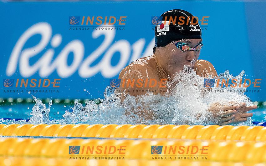 Koseki Yasuhiro JPN<br /> 100 breaststroke men<br /> Rio de Janeiro 06-08-2016 XXXI Olympic Games <br /> Olympic Aquatics Stadium <br /> Swimming heats 06/08/2016<br /> Photo Giorgio Scala/Deepbluemedia/Insidefoto