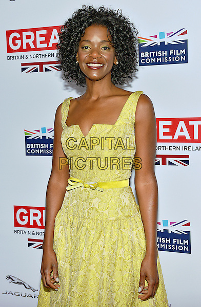 28 February 2014 - Los Angeles, California - Kelsey Scott. GREAT British Film Reception to honor the British Oscar nominees, hosted by Consul General Chris O'Connor at the British Residence. <br /> CAP/ADM/CC<br /> &copy;CC/AdMedia/Capital Pictures