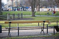 In der Nacht zum 24. Oktober 2010 wurde der 21jaehrige Kamal Kilade im Leipziger &quot;Mueller Park&quot; von den Neonazis Marcus E. und Daniel K. ermordet. Markus E. wurde zu 13 Jahren Haft und Sicherheitsverwahrung verurteilt. Daniel K. wurde zu 3 Jahren Haft verurteilt.<br /> Im Park gibt es keinen Hinweis auf den rassistischen Mord.<br /> 20.2.2012, Leipzig<br /> Copyright: Christian-Ditsch.de<br /> [Inhaltsveraendernde Manipulation des Fotos nur nach ausdruecklicher Genehmigung des Fotografen. Vereinbarungen ueber Abtretung von Persoenlichkeitsrechten/Model Release der abgebildeten Person/Personen liegen nicht vor. NO MODEL RELEASE! Nur fuer Redaktionelle Zwecke. Don't publish without copyright Christian-Ditsch.de, Veroeffentlichung nur mit Fotografennennung, sowie gegen Honorar, MwSt. und Beleg. Konto: I N G - D i B a, IBAN DE58500105175400192269, BIC INGDDEFFXXX, Kontakt: post@christian-ditsch.de<br /> Bei der Bearbeitung der Dateiinformationen darf die Urheberkennzeichnung in den EXIF- und  IPTC-Daten nicht entfernt werden, diese sind in digitalen Medien nach &sect;95c UrhG rechtlich geschuetzt. Der Urhebervermerk wird gemaess &sect;13 UrhG verlangt.]