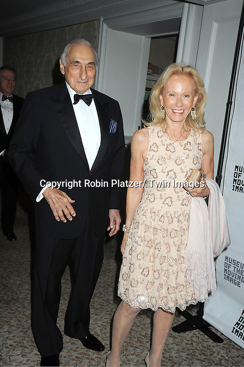 George Kaufman and wife Marianna attends the Museum of the Moving Image Benefit honoring Philippe Dauman of Viacom, Randy Falco of Univision and George S Kaufman of Kaufman Astoria Studios on April 19, 2012 at The St Regis Hotel in New York City.