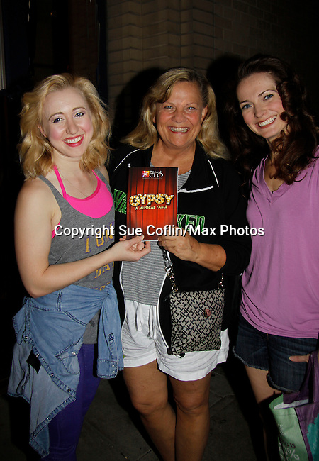 """Guiding Light Kim Zimmer """"Rose"""" and Mallory Michellann & Kim Zimmer & Amanda Rose <br /> <br /> <br /> <br /> <br /> <br /> <br /> <br /> <br /> <br /> <br /> <br /> <br /> <br /> <br /> <br /> <br /> <br /> <br /> <br /> <br /> <br /> <br /> <br /> <br /> <br /> <br /> <br /> <br /> <br /> <br /> <br /> <br /> <br /> <br /> <br /> <br /> <br /> <br /> <br /> <br /> <br /> <br /> <br /> <br /> <br /> <br /> <br /> <br /> <br /> <br /> <br /> 'Mallory Michellann """"Dainty June"""" & Kim Zimmer """"Rose"""" & Amanda Rose """"Louise"""" star in Gypsy on July 14, 2015 at Pittsburgh CLO Theatre, Pittsburgh, PA. (Photos by Sue Coflin/Max Photos)"""