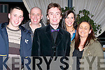 SNOOKER: Ken Doherty, former world snooker champion was delighted to meet some fans at the Snooker exhibition at Ballyroe Heights Hotel, Tralee. on Thursday night. L-r: Ryan and David Hill, Ken Doherty, Alison Maguire and Tricia Hill (Tralee)..