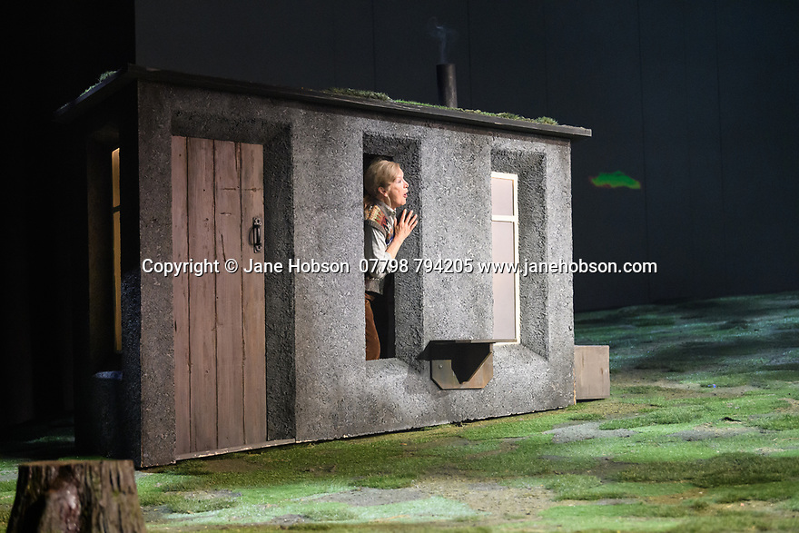 """The National Theatre of Great Britain presents """"Peter Gynt"""", by David Hare, directed by Jonathan Kent, at the Festival Theatre, as part of the Edinburgh International Festival. Picture shows: Ann Louise Ross (Agatha)"""