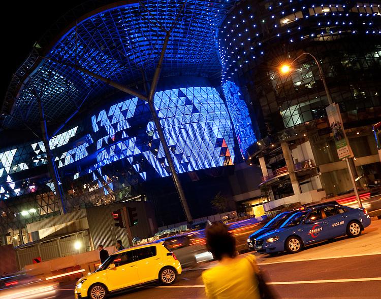 ION Orchard Night 01 - ION Orchard at night, Orchard Rd, Singapore