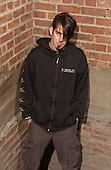 Lamb Of God; Randy Blythe; Studio Session; In New York; 2004;<br /> Photo Credit: Eddie Malluk/Atlasicons