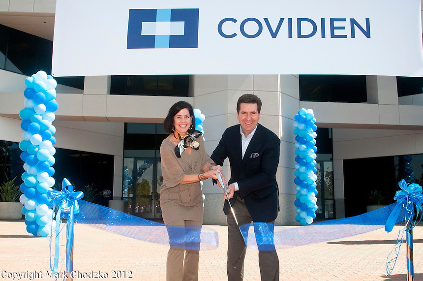 Covidien, a health care company, grand opening event for employees.