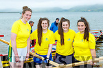 Callinafercy rowers Sarah Kennedy, Orla Murphy Aoife Murphy and Emma Murphy who competed at the Cromane Regatta on Saturday