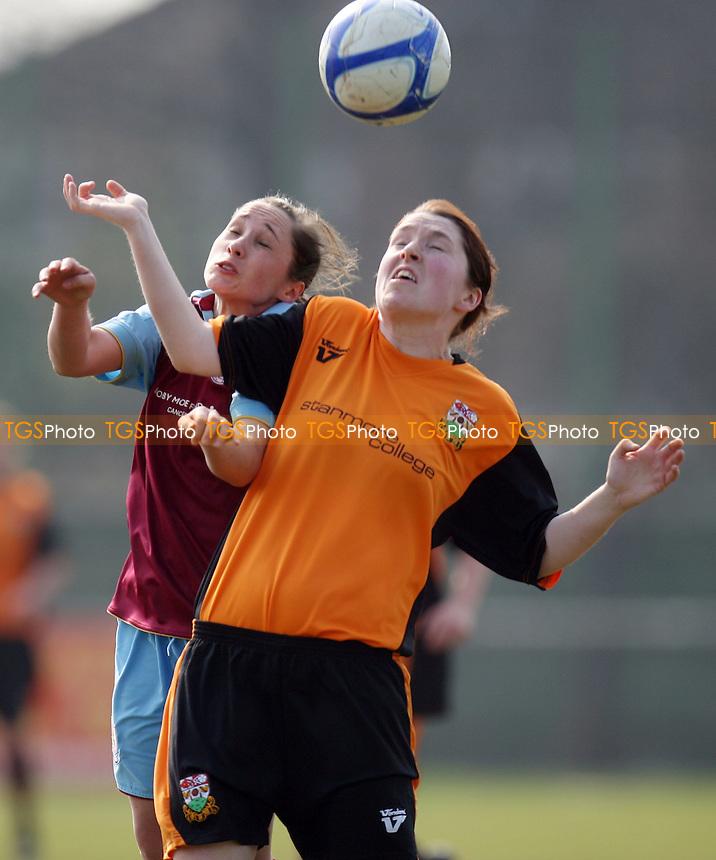 Barnet Ladies vs West Ham Ladies 27/03/11 - MANDATORY CREDIT: Dave Simpson/TGSPHOTO