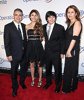 NEW YORK CITY, NY, USA - MAY 01: Raimi family at the Operation Smile Event held at Cipriani Wall Street on May 1, 2014 in New York City, New York, United States. (Photo by Jeffery Duran/Celebrity Monitor)