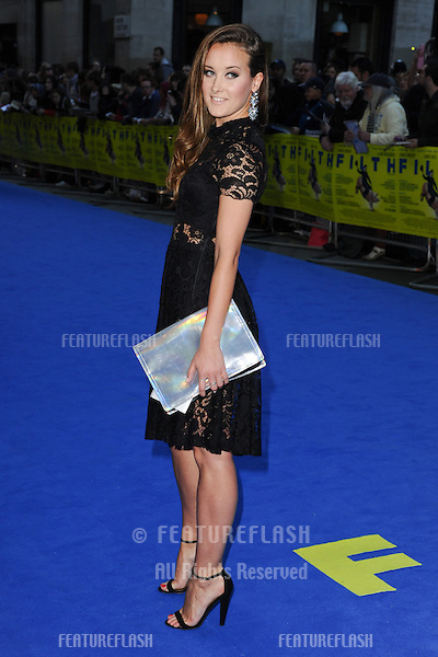 "April Pearson arriving for the ""Filth"" premiere at the Odeon Leicester Square, London. 30/09/2013 Picture by: Steve Vas / Featureflash"