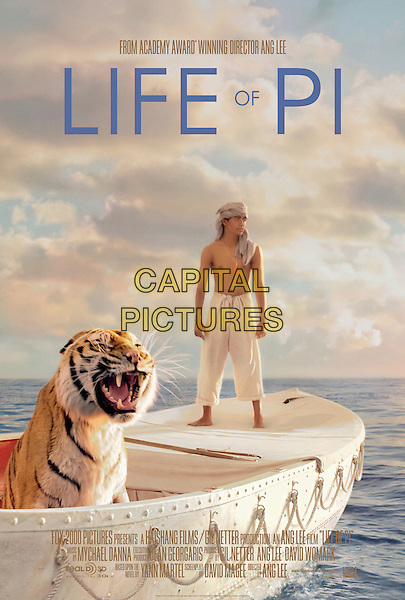 POSTER ART.in Life of Pi (2012).*Filmstill - Editorial Use Only*.CAP/FB.Supplied by Capital Pictures.