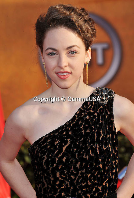 Brittany Curran _214   -<br /> 16 th Annual Screen Actors Guild Awards at the Shrine Auditorium in Los Angeles.