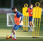 08.08.18 Rangers training: Daniel Candeias