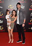 HOLLYWOOD, CA - JUNE 05: Jana Kramer attends the premiere of Disney and Pixar's 'Incredibles 2' at the El Capitan Theatre on June 5, 2018 in Los Angeles, California.