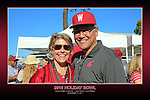 Fan shots from the Cougars Holiday Bowl game at Qualcomm Stadium in San Diego, California, on December 27, 2016.
