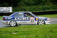 Round 9 of the 1991 British Touring Car Championship. #33 Gary Ayles (GBR). Kaliber ICS Team Toyota. Toyota Carina.