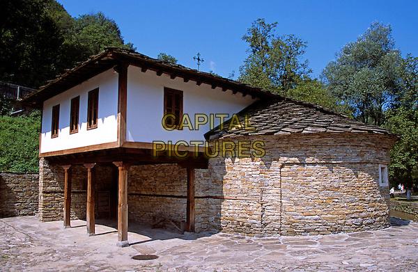 Etara Ethnographic Outdoor Village Museum, Etara, Near Gabrovo, Bulgaria. Holy Epiphany Church