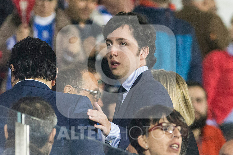 Fran Nicolas during the match of  La Liga between Club Deportivo Leganes and Real Madrid at Butarque Stadium  in Leganes, Spain. April 05, 2017. (ALTERPHOTOS / Rodrigo Jimenez)