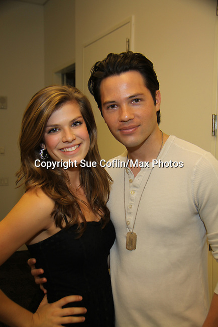 Kelley Missal and Jason Tam at the 9th Annual Rock Show for Charity to benefit the American Red Cross of Greater New York on October 9, 2010 at the American Red Cross Headquarters, New York City, New York. (Photos by Sue Coflin/Max Photos)