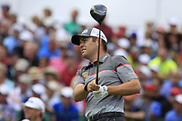 Louis Oosthuizen (RSA) tees off the 1st tee to start his match during Sunday's Final Round of the 117th U.S. Open Championship 2017 held at Erin Hills, Erin, Wisconsin, USA. 18th June 2017.<br /> Picture: Eoin Clarke | Golffile<br /> <br /> <br /> All photos usage must carry mandatory copyright credit (&copy; Golffile | Eoin Clarke)