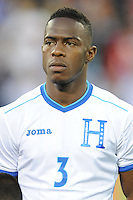 Washington, D.C.- May 29, 2014. Honduras defender Maynor Figueroa.  Turkey defeated Honduras 2-0 during an international friendly game at RFK Stadium.