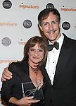 Patti Lupone & Howard McGillin.attending the Signature Theatre Stephen Sondheim Award Gala reception honoring Patti Lupone at the Embassy of Italy in Washington D.C. on 4/16/2012.