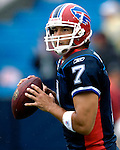 9 September 2007: Buffalo Bills quarterback  J.P. Losman warms up prior to facing the Denver Broncos at Ralph Wilson Stadium in Buffalo, NY. The Broncos defeated the Bills 15-14 in the opening day matchup...Mandatory Photo Credit: Ed Wolfstein Photo