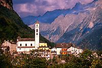 Chiavenna, Italy (near the Swiss border and the Maloja Pass)