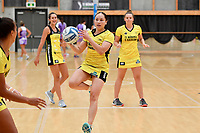 Pulse&rsquo; Whitney Souness, Netball Pre Season Tournament - Pulse v Stars at Ngā Purapura, Otaki, New Zealand on Saturday 9 February  2019. <br />