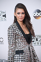LOS ANGELES, CA. November 20, 2016: Actress Nina Dobrev at the 2016 American Music Awards at the Microsoft Theatre, LA Live.<br /> Picture: Paul Smith/Featureflash/SilverHub 0208 004 5359/ 07711 972644 Editors@silverhubmedia.com