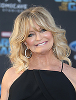 "HOLLYWOOD, CA - April 19: Goldie Hawn, At Premiere Of Disney And Marvel's ""Guardians Of The Galaxy Vol. 2"" At The Dolby Theatre  In California on April 19, 2017. Credit: FS/MediaPunch"