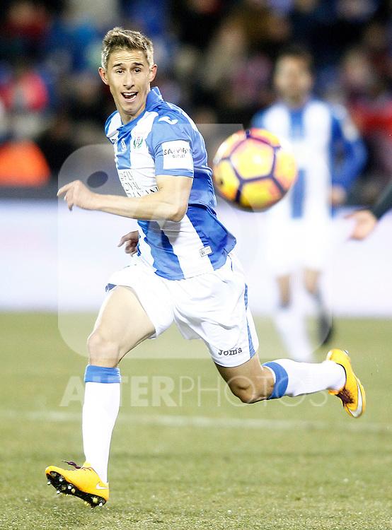 CD Leganes' Alexander Szymanowski during La Liga match. January 28,2017. (ALTERPHOTOS/Acero)