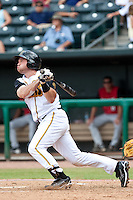 Vinny Rottino (4) of the Jacksonville Suns during a game vs. the Carolina Mudcats May 31 2010 at Baseball Grounds of Jacksonville in Jacksonville, Florida. Jacksonville won the game against Carolina by the score of 3-2. Photo By Scott Jontes/Four Seam Images
