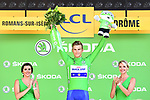 Marcel Kittel (GER) Quick-Step Floors retains the Green Jersey at the end of Stage 16 of the 104th edition of the Tour de France 2017, running 165km from Le Puy-en-Velay to Romans-sur-Isere, France. 18th July 2017.<br /> Picture: ASO/Alex Broadway | Cyclefile<br /> <br /> <br /> All photos usage must carry mandatory copyright credit (&copy; Cyclefile | ASO/Alex Broadway)