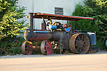 C. 1907 Wood Brothers steam tractor manufactured in Des Moines, IA