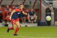 Chicago, IL - Saturday Sept. 24, 2016: Christine Nairn during a regular season National Women's Soccer League (NWSL) match between the Chicago Red Stars and the Washington Spirit at Toyota Park.