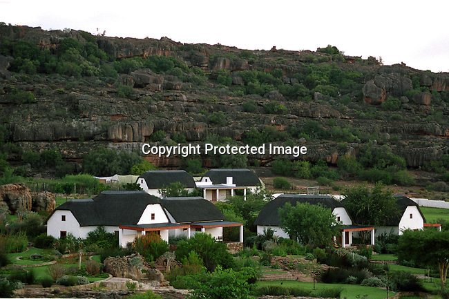 DISPWCA00074.West Coast, nature, conservation,hotel, cederberg,.mountains, paintings, bushman, bushmans,.Bushmanskloof, a luxury resort and a private reserve. The area has a high number of bushman paintings. Bushmanskloof, South Africa. Accommodation.©Per-Anders Pettersson/iAfrika Photos