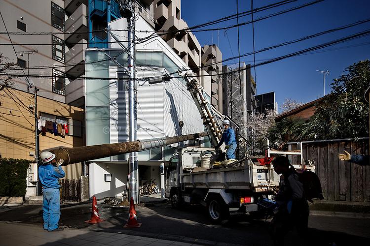Tokyo, March 21 2013 - House in Nakameguro by Yoritaka Hayashi.
