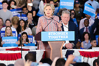 Hillary Clinton & Al Gore attend Rally in Miami, FL on October 11, 2016